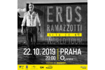 EROS RAMAZZOTTI koncert Praha 22.10.2019, vstupenky online