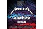 PRAGUE ROCKS - METALLICA, FIVE FINGER DEATH PUNCH, RED FLAG and others, vstupenky online