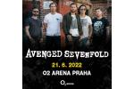 AVENGED SEVENFOLD koncert Praha 21.6.2022, vstupenky online