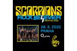 SCORPIONS koncert Praha 26.5.2022, vstupenky online