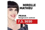MIREILLE MATHIEU koncert Praha 7.+8.3.2020, vstupenky online