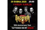 NAZARETH koncert Praha 30.9.2021, vstupenky online