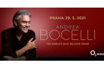ANDREA BOCELLI koncert Praha 8.1.2022, vstupenky online