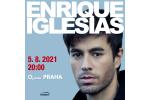 ENRIQUE IGLESIAS koncert Praha 5.8.2021, vstupenky online
