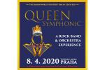 QUEEN SYMPHONIC koncert Praha 26.11.2021, vstupenky online