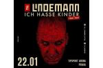 TILL LINDEMANN koncert Praha 22.1.2022, vstupenky online