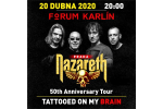 NAZARETH Konzert Prag-Praha 20.4.2020, Konzertkarten online
