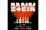 RAMMSTEIN Konzert Prag-Praha 15.-16.5.2022, personalizierte Konzertkarten