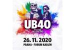 UB40 Konzert Prag-Praha 26.11.2020, Konzertkarten online