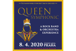 QUEEN SYMPHONIC Konzert Prag-Praha 8.4.2020, Konzertkarten online
