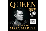 QUEEN SHOW starring MARC MARTEL Prague-Praha 18.2.2021, tickets online