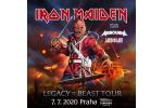 IRON MAIDEN concierto Praga-Praha 15.6.2021, entradas en linea
