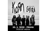 KORN concierto Praga-Praha 28.5.2021, entradas en linea