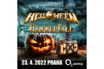 HELLOWEEN + HAMMERFALL concierto Praga-Praha 23.4.2022, entradas en linea