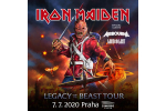 IRON MAIDEN concert Prague-Praha 7.7.2020, tickets online