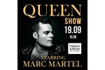 QUEEN SHOW starring MARC MARTEL Praga-Praha 18.10.2021, biglietes online