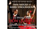 DON QUIJOTE - IMPERIAL RUSSIAN BALLET Praga-Praha 31.1.2021, biglietes online