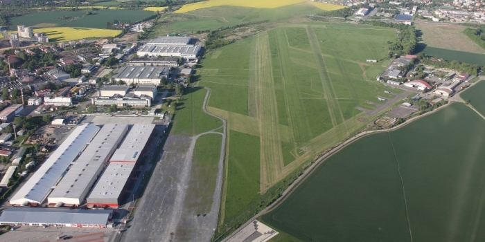 letiště letňany foto zhora