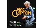 ERIC CLAPTON koncert Praga-Praha 23.5.2021, bilety online