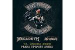 FIVE FINGER DEATH PUNCH and MEGADETH Praga-Praha 14.2.2020, bilety online