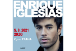 ENRIQUE IGLESIAS koncert Praga-Praha 5.8.2021, bilety online