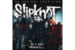SLIPKNOT koncert Praga-Praha 29.7.2021, bilety online
