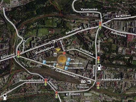 O2 - mapa Detail