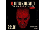 TILL LINDEMANN концерт Прага-Praha 22.1.2022, билеты онлайн